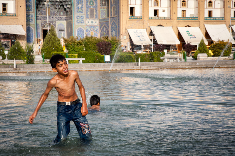 Boys - Naghsh-e Jahan Square, Esfahan