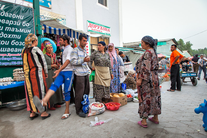 Trouble in the market - Dushanbe