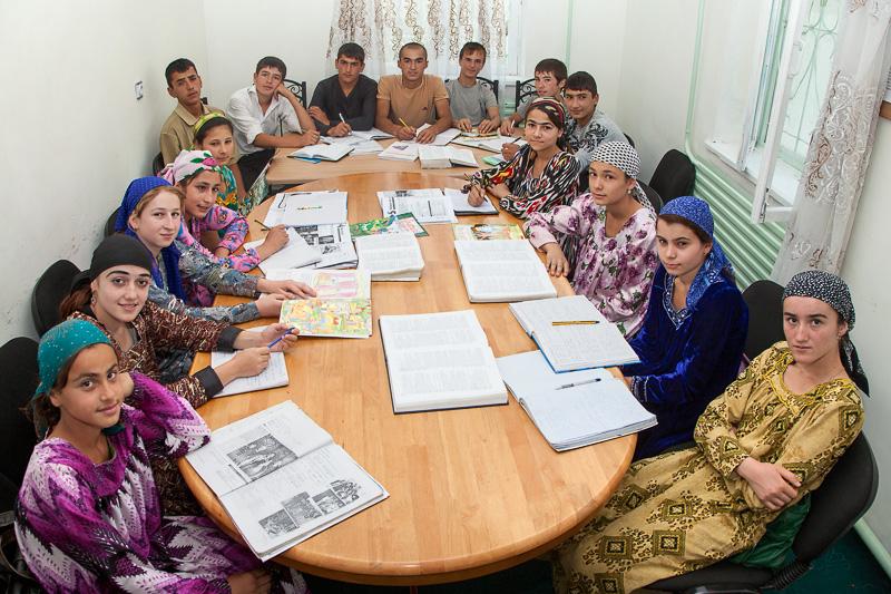 English language students - Gharm