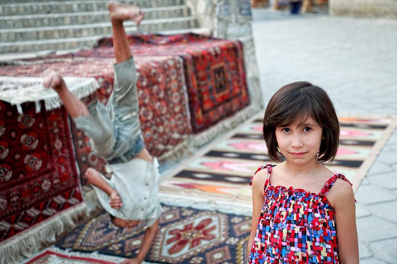 Gymnastic flip - Uzbekistan