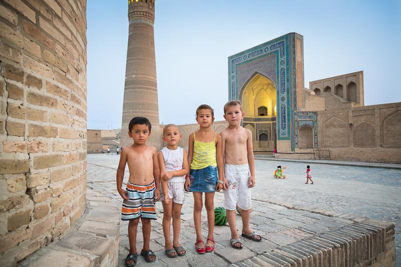 Children - Uzbekistan
