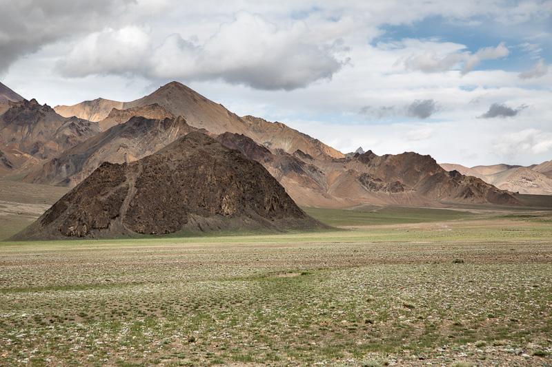 Mountain plain -  Tajikistan