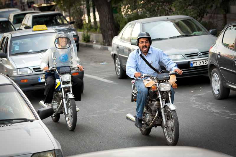 Motorcyclists - Tehran