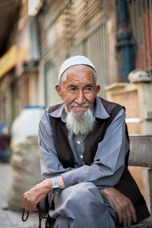 Afghan man - Shiraz