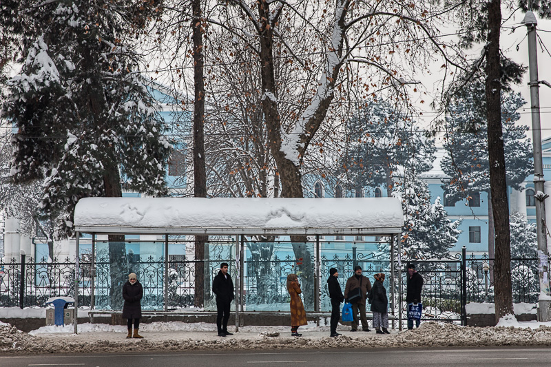 Waiting - Dushanbe