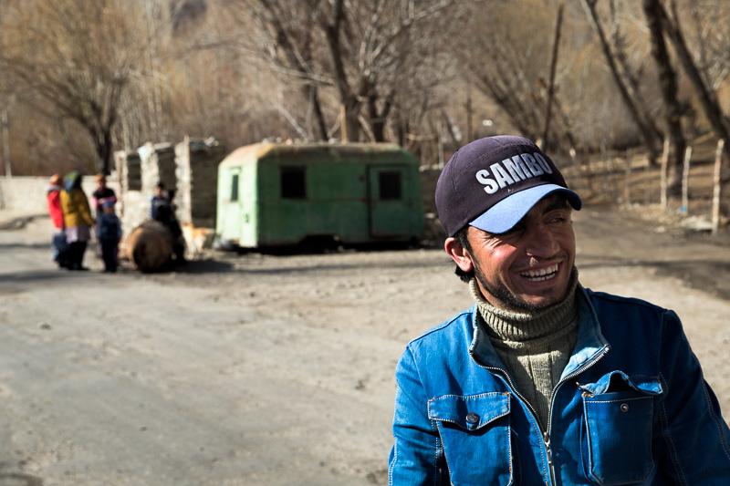 Man in Sambo cap - Ishkashim