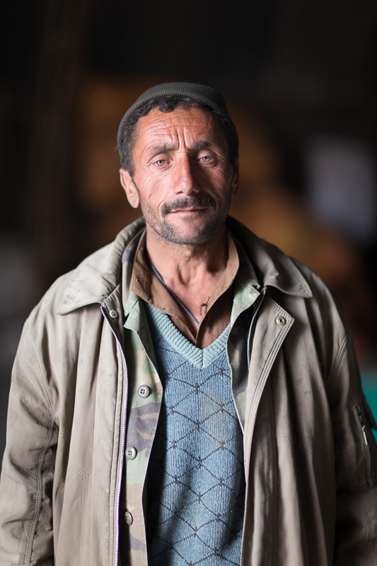 Worker in the Afghan Bazaar