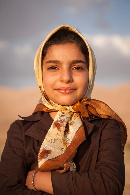 Girl -  Aghdash, Iran