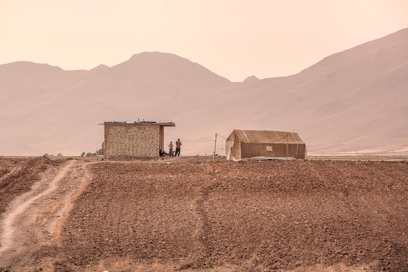 Nomadic community - Aghdash