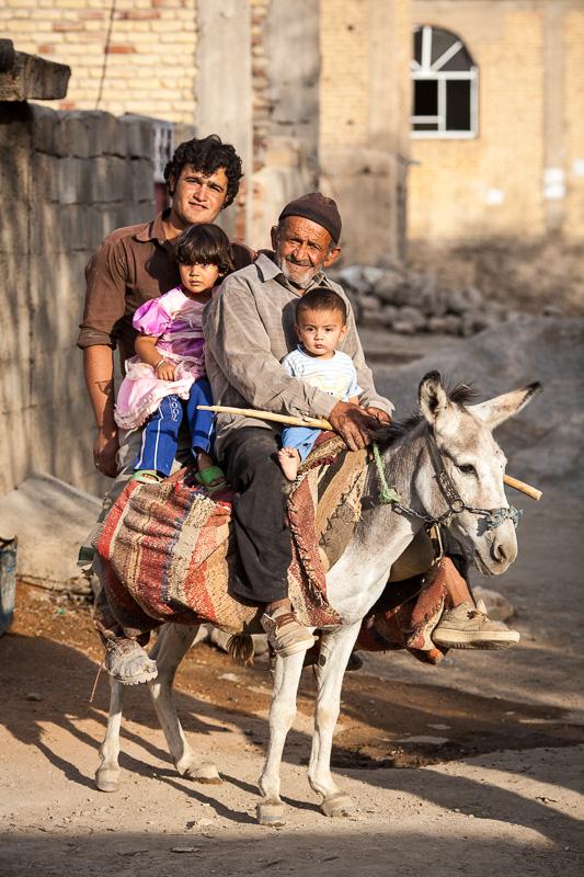 Village transport - Kaj, Iran
