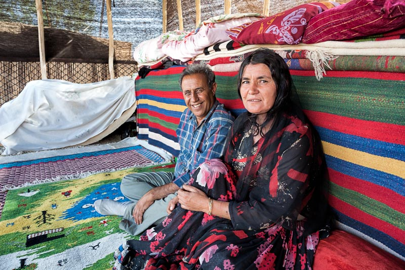 Wife and husband - Aghdash