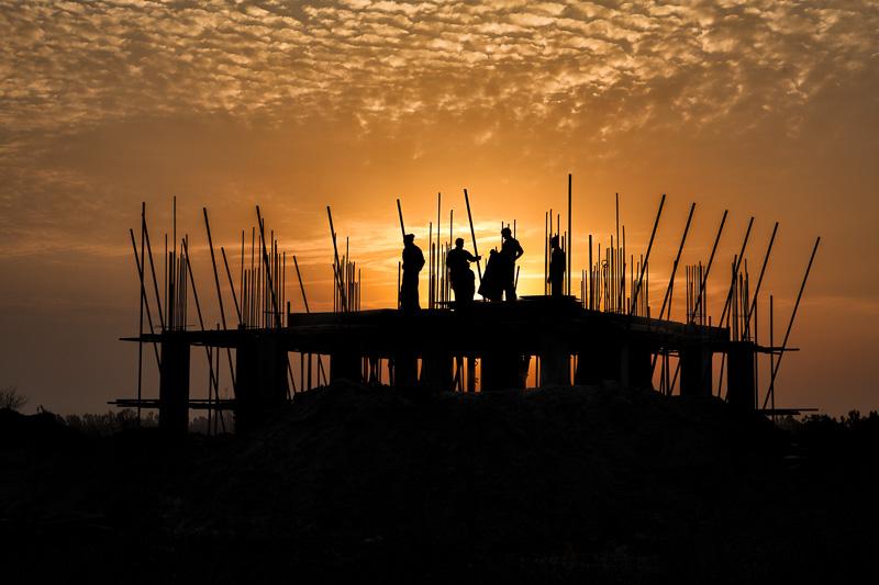 Construction site - Lahore