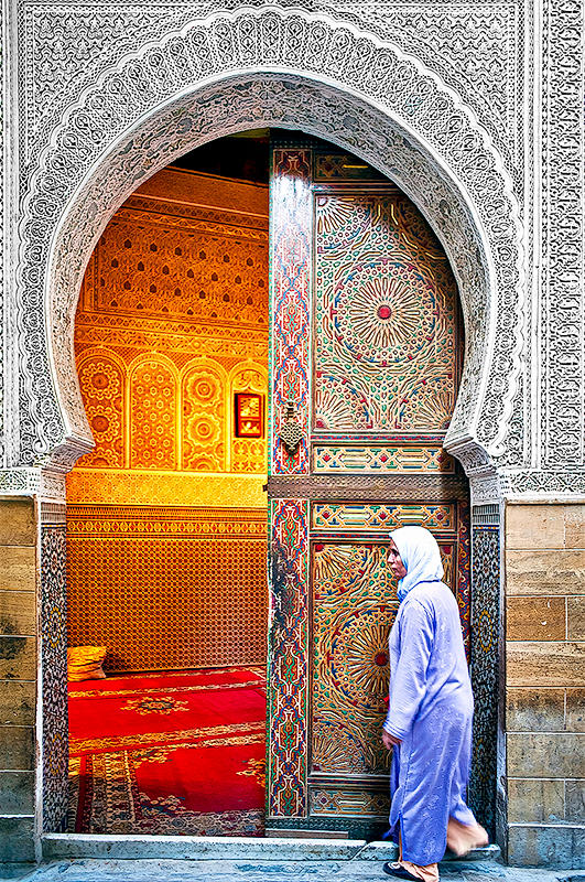 Mosque at Medina of Fez