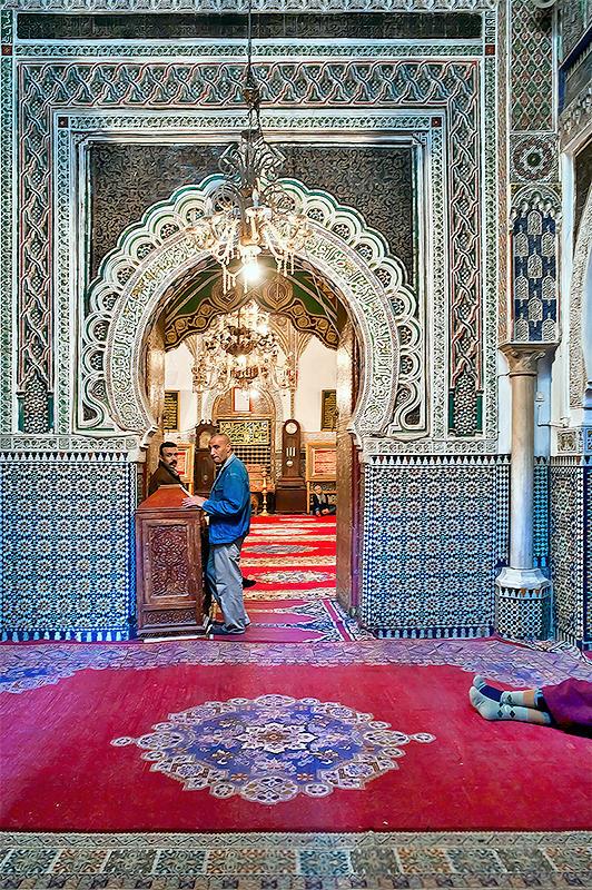 Mosque at Medina of Fez