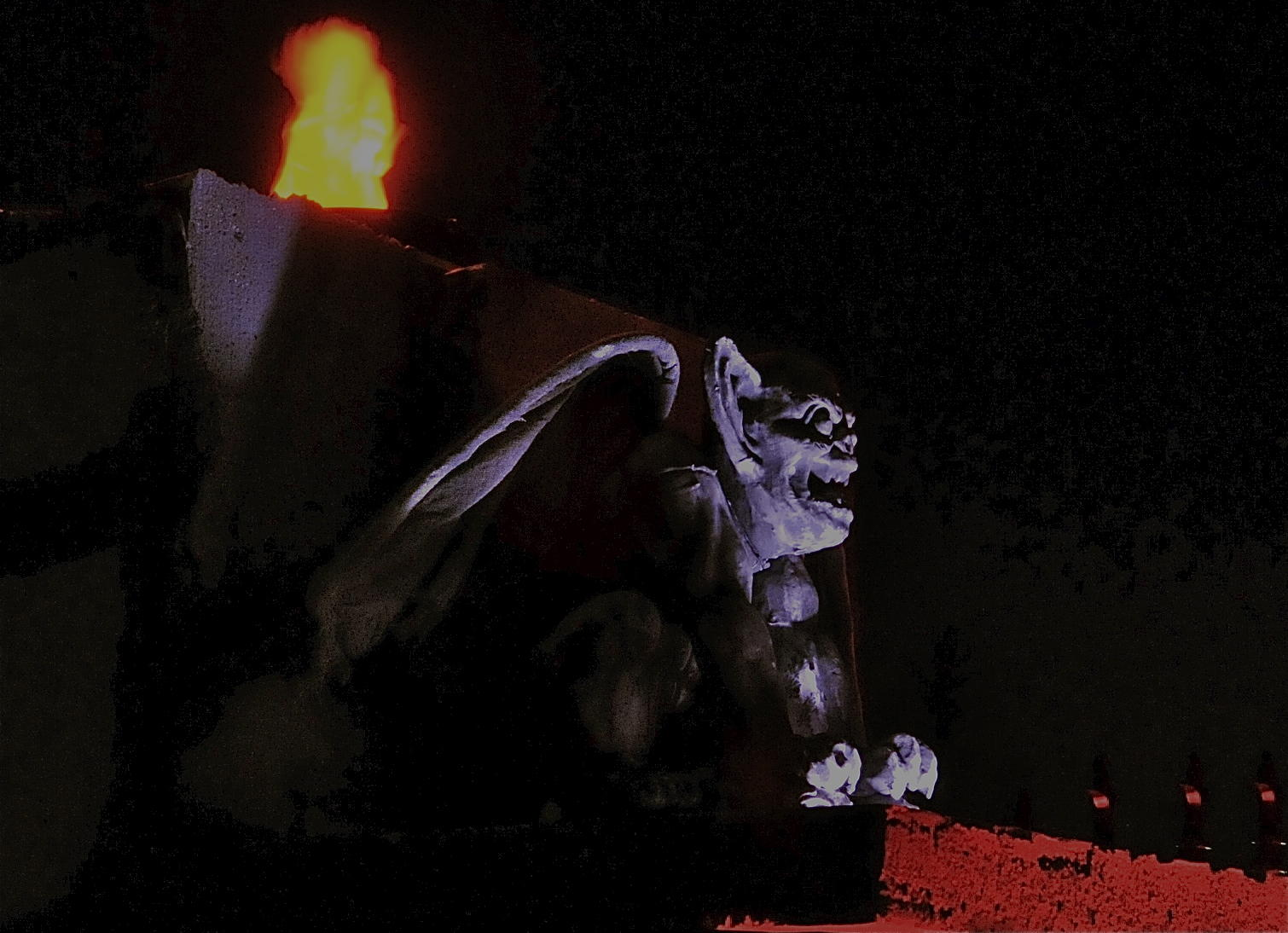 Gargoyle Keeping Watch
