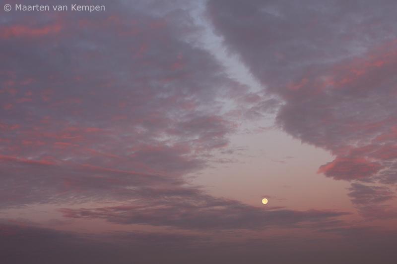 Pastel moon