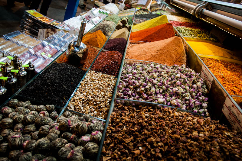 Inside the Spice Market - Istanbul