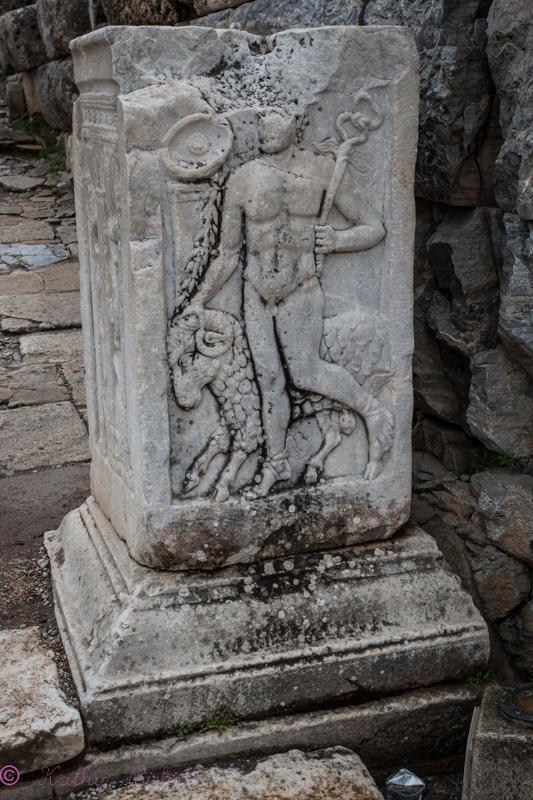 Ruins in Ephesus