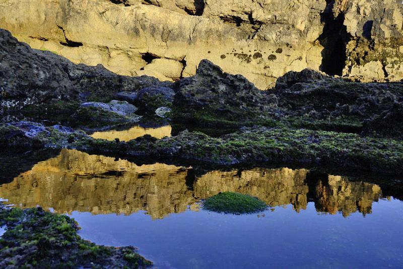 Reflection at Raso Cape, Portugal