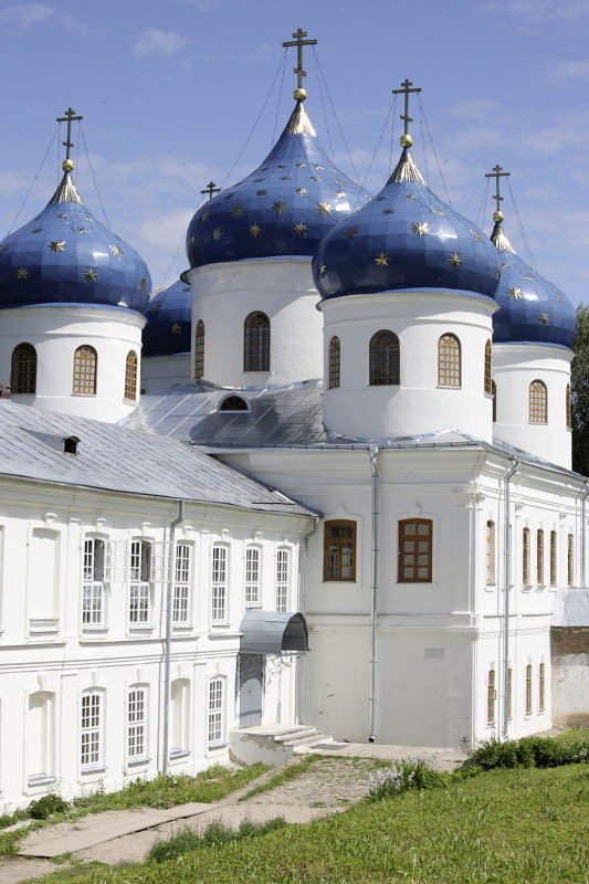 Yurev Monastery, Novgorod, Russia
