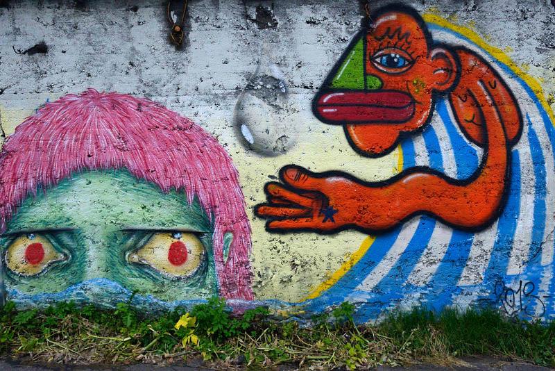 Reikjavik graffiti