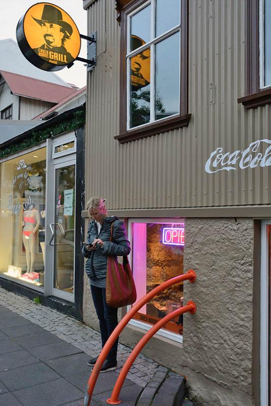 Reikjavik, calling a friend