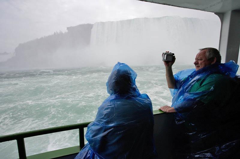 Boat trip at Niagara Falls, Canada
