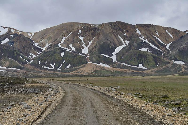 Road F208 near Landmannalaugar