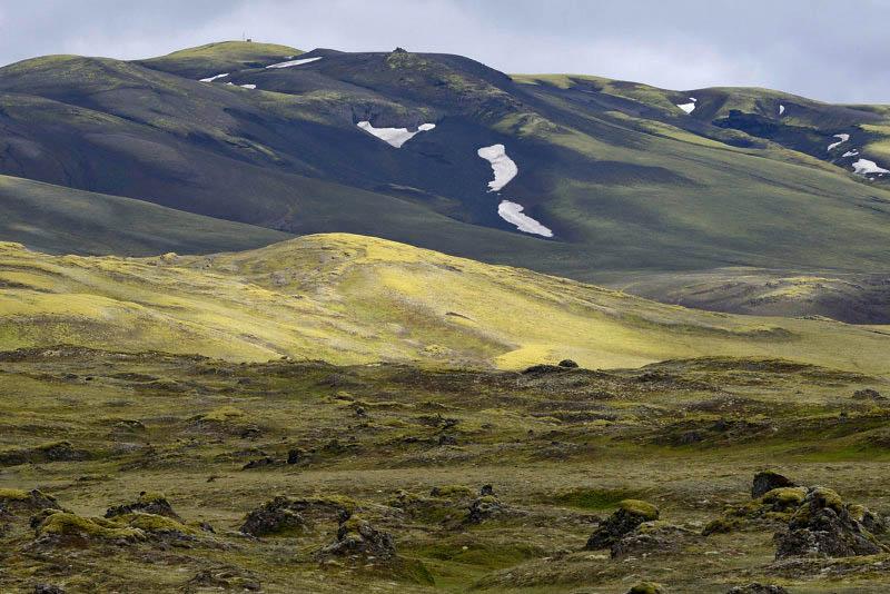Road F208, from Kirkjubaejarklaustur to Eldgjá