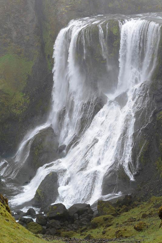 From Kirkjubaejarklaustur to Lakagigar, Fagrifoss