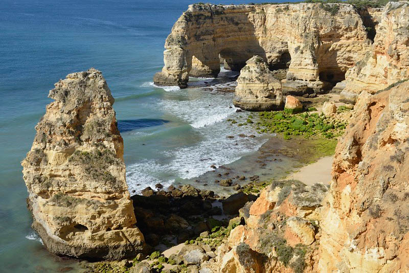 Praia da Marinha, Portugal