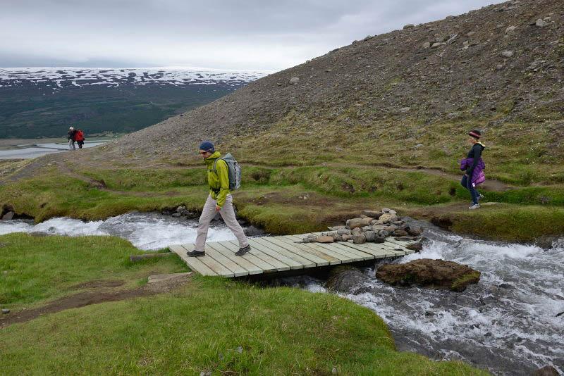 Trail to Hengifoss