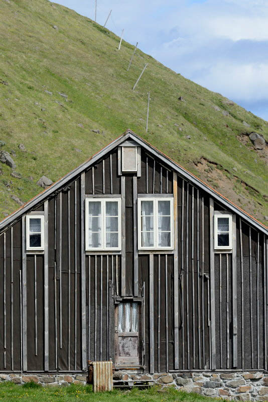 Mjóifjordur, at Solbrekka