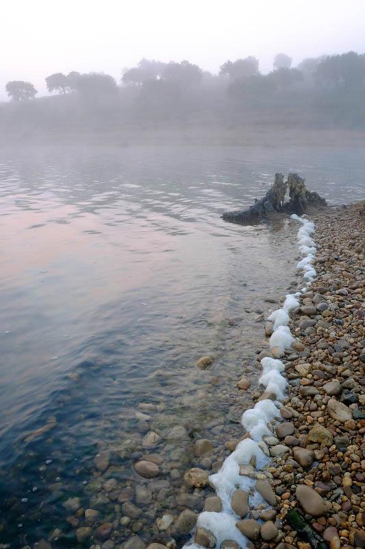 Alqueva lake near Monsaraz, Portugal