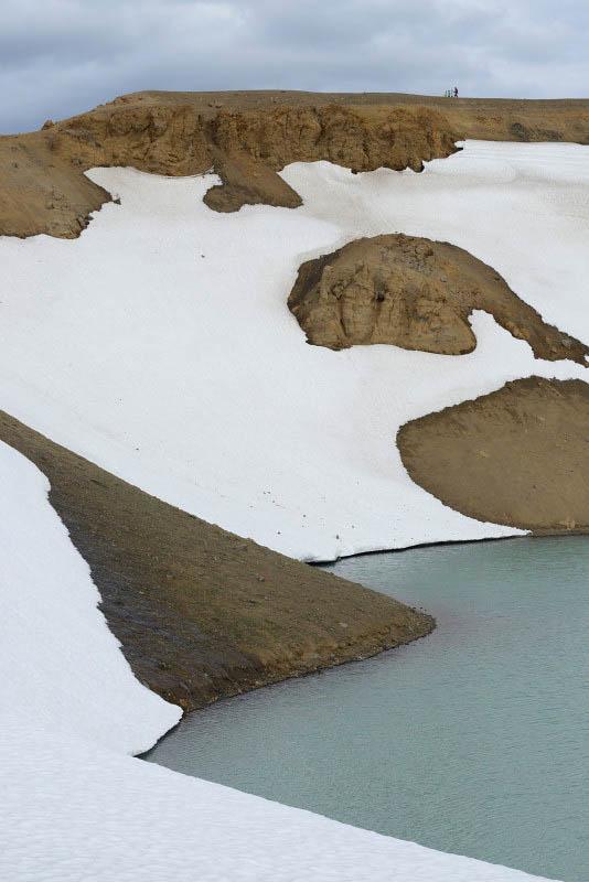 Víti crater in Krafla, Mývatn area
