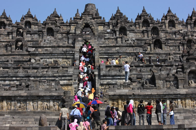 Borobodur, Java Island, Indonesia