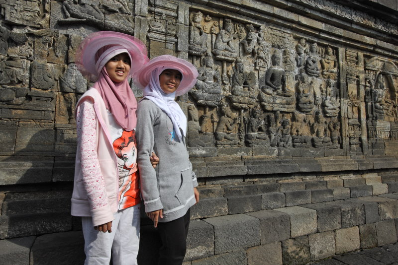 Borobodur Temple, Java Island, Indonesia