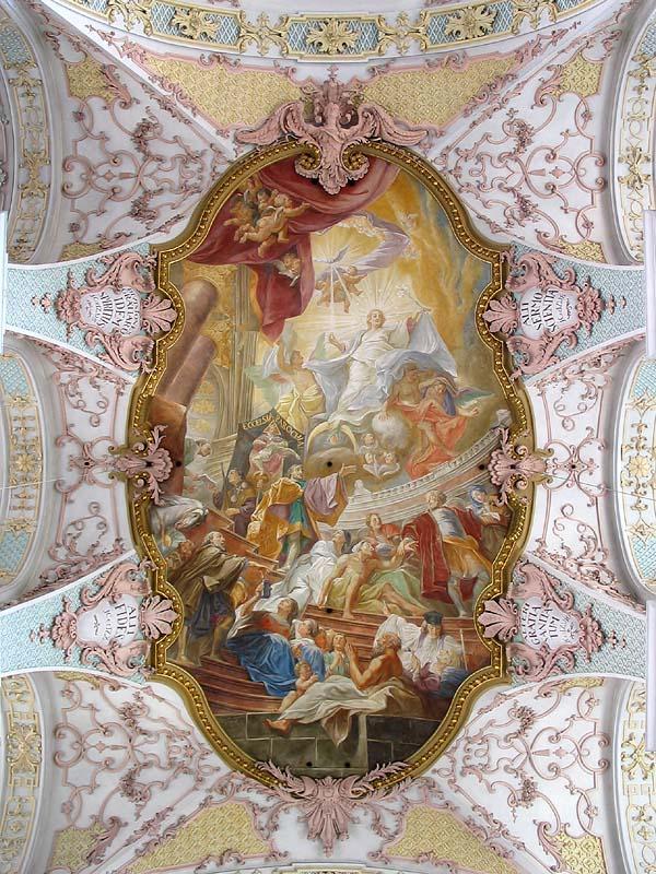 MÜNCHEN - CHURCH CEILING