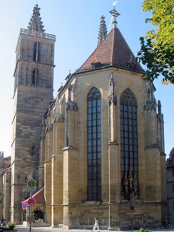 ROTHENBURG - ST. JACOBS CHURCH