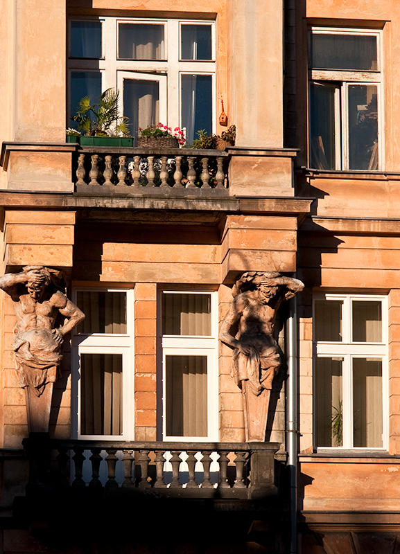 Windows With Atlantes
