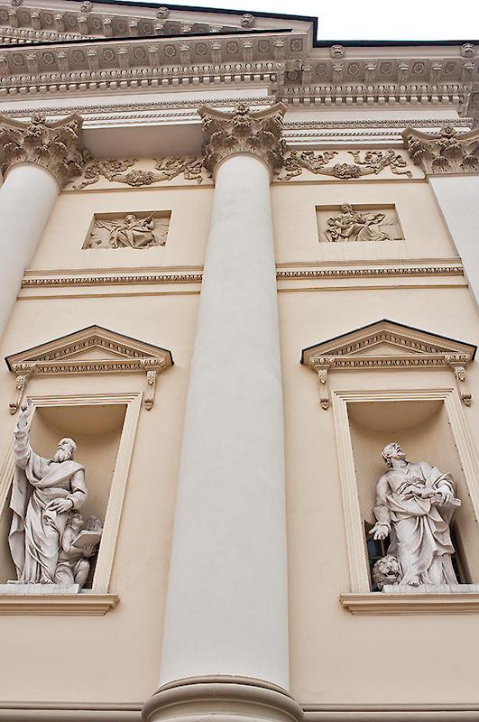Two Ladies Above, Two Saints Below