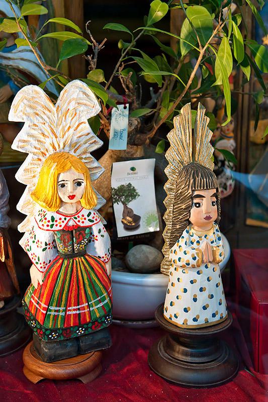 Angel In Folk Dress