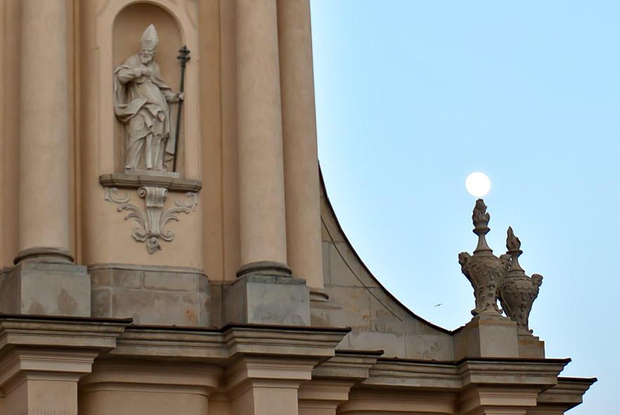 Moon Resting On The Amphora