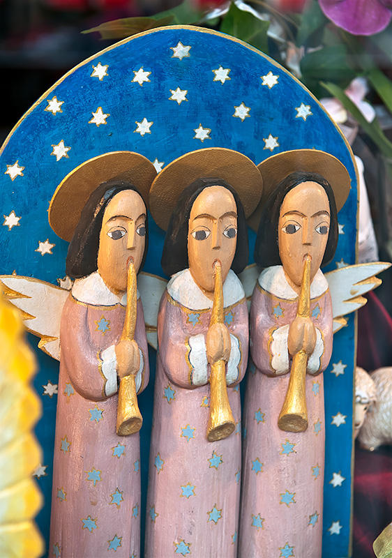 Angels Playing The Trumpets