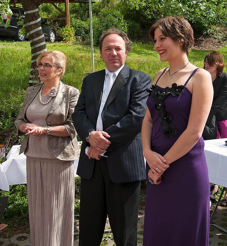Brides Parents And Sister