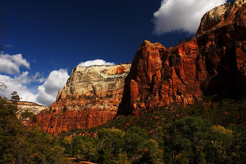 Beautiful Zion Canyon