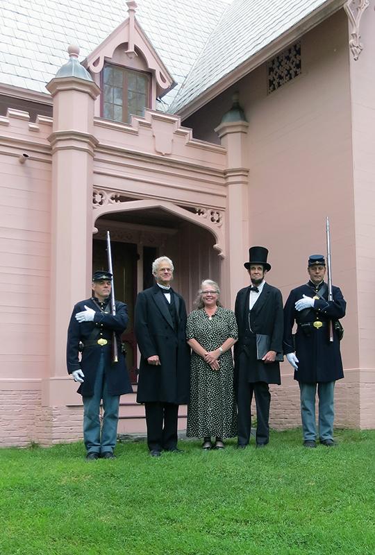 VT Guard ,  JSM, Ann, Abe, VT Guard