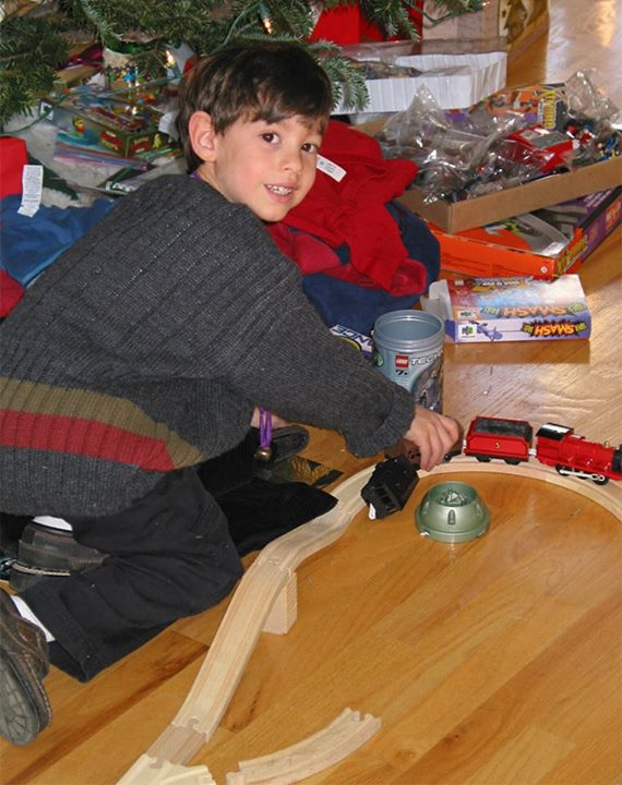 JonCarlo, Christmas Long Ago!