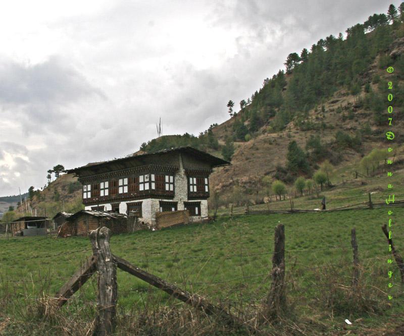 Bhutanese Hill House