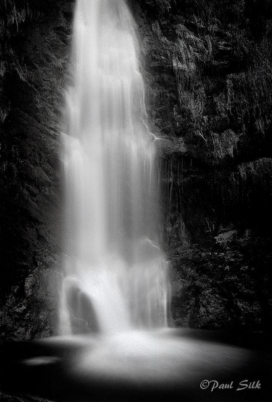 Pistyll Rhyader Waterfalls